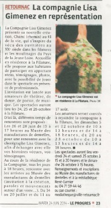 Article Tsami Retournac