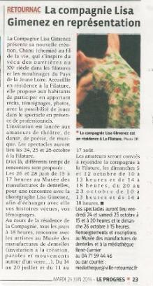 Article Tsami Retournac