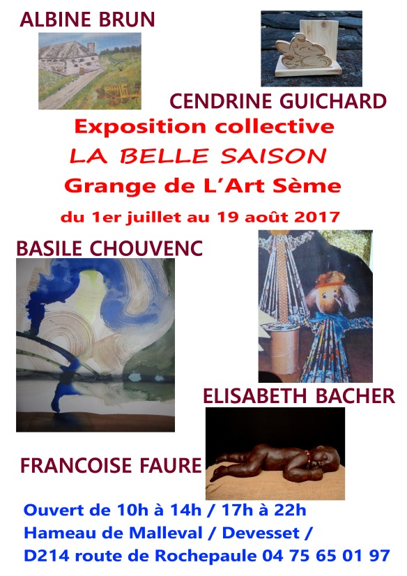 Affiche Expo Collective 2017