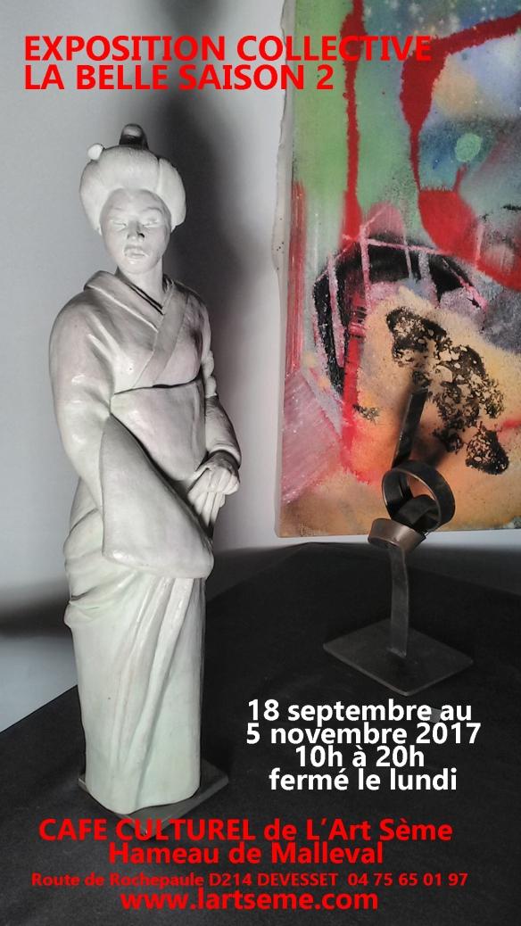 Affiche Expo La belle saison 2 copie